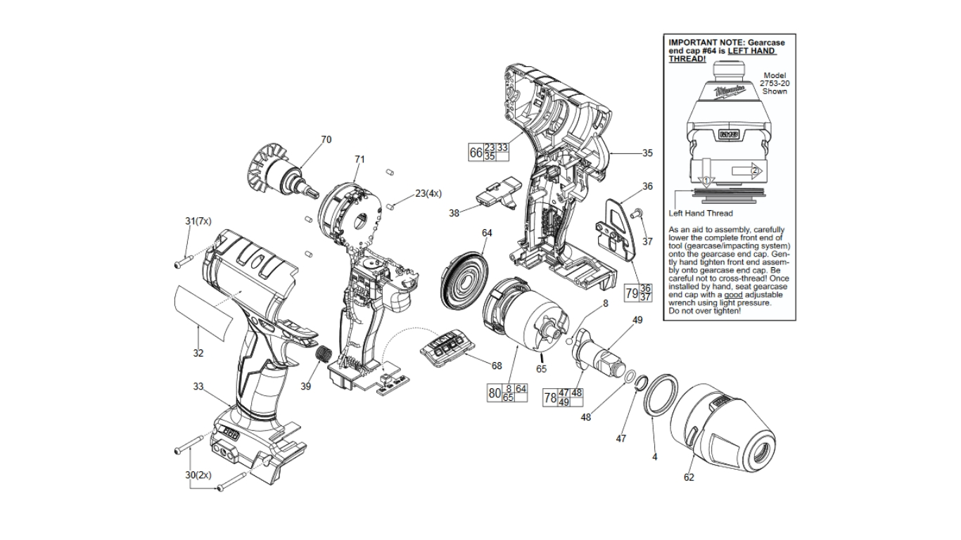 Wondrous Spare Parts Milwaukee Spare Parts Cordless Tools Pdpeps Interior Chair Design Pdpepsorg