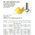 Carbitool T1230 1/2 Router Bit